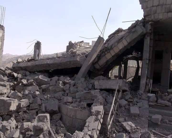 أكثر من مليونين دولار خسائر تدمير العدوان لـ17 منشأة بمحافظة صنعاء.