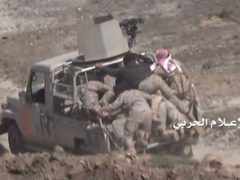 الإعلام الحربي يوزع مشاهد جديدة لتطهير قلل الشيباني من العسكريين السعوديين.