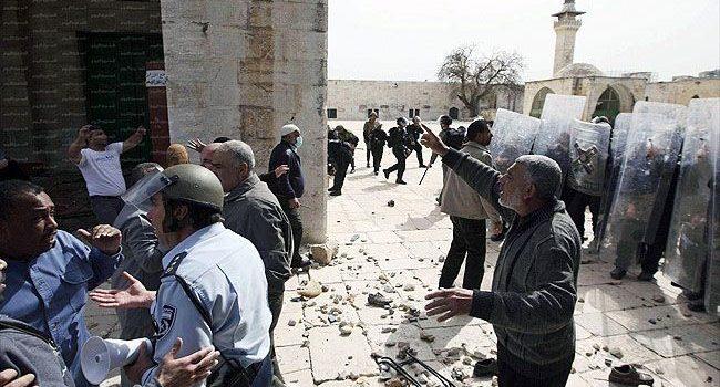 اقتحام صهيوني لباحات المسجد الأقصى