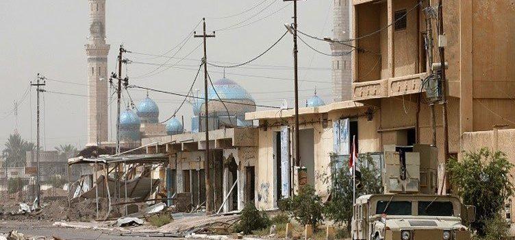 القوات العراقية تطهر 350 منزلاً بالفلوجة