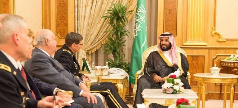 قائد القيادة الوسطى الأمريكية يلتقي قيادات سعودية