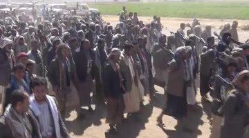 قبائل عنس بمحافظة ذمار تعلن النفير العام والنكف