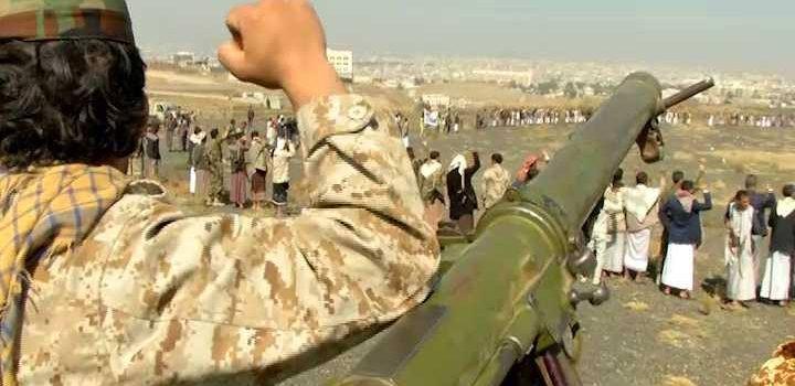 صور| أبناء مديرية آزال بالعاصمة صنعاء يعلنون النكف والنفير العام