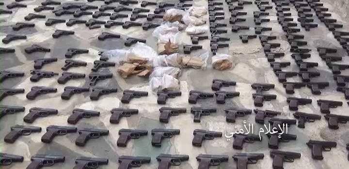 للمرة الثانية: ضبط خلية إجرامية بحوزتها مئات من قطع السلاح بالعاصمة.