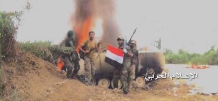 الإعلام الحربي يوزع مشاهد للعملية الواسعة للجيش واللجان في جيزان.