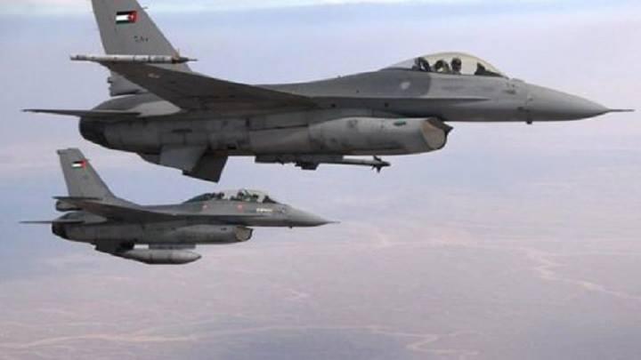 """تحطم طائرة عسكرية أردنية """"أف 16″ ومقتل طيارها"""