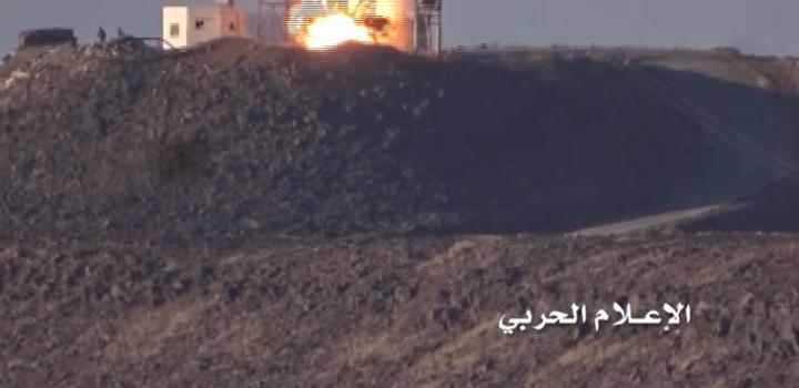 تدمير آليتين سعوديتين خلال عملية اقتحام نوعية بجيزان ودك مواقع بالصواريخ والمدفعية