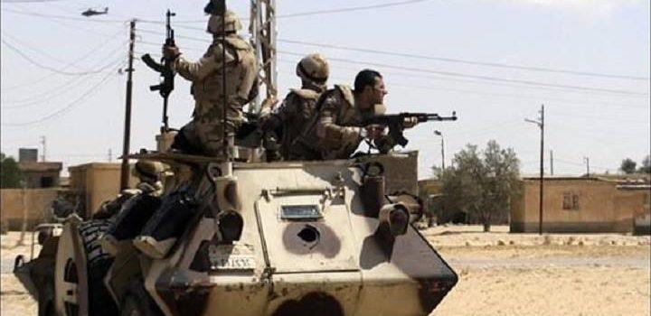 مقتل وجرح 12 تكفيريا شمال سيناء