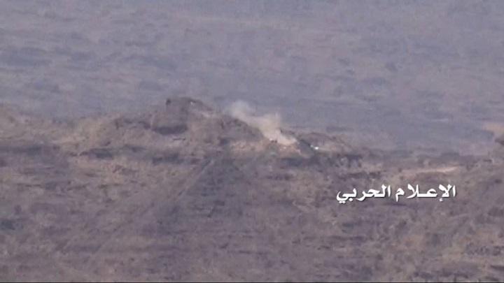 القوة الصاروخية والمدفعية للجيش واللجان تدك مواقع عسكرية سعودية بنجران.