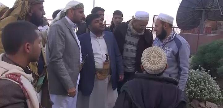 """رئيس الثورية العليا يزور مديريات """"الحيمة الخارجية ومناخة وصعفان"""" بمحافظة صنعاء"""